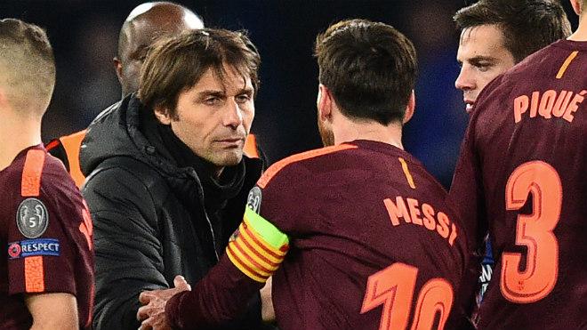 """Chelsea dựng """"pháo đài"""" ở Nou Camp: """"Ma pháp"""" Conte đấu Messi - 2"""