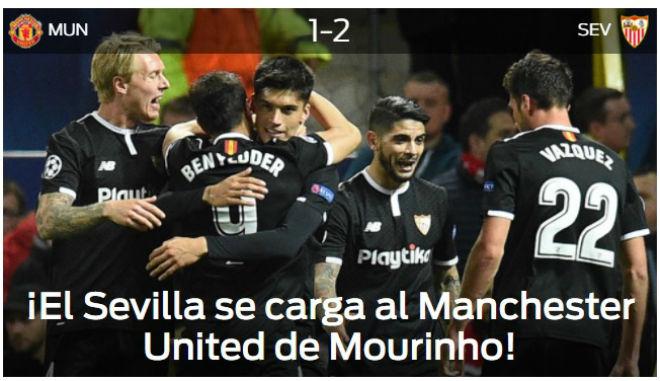 MU bị loại Cúp C1: Báo chí Anh cay nghiệt mắng Mourinho hèn nhát - 6