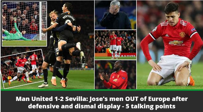 MU bị loại Cúp C1: Báo chí Anh cay nghiệt mắng Mourinho hèn nhát - 3