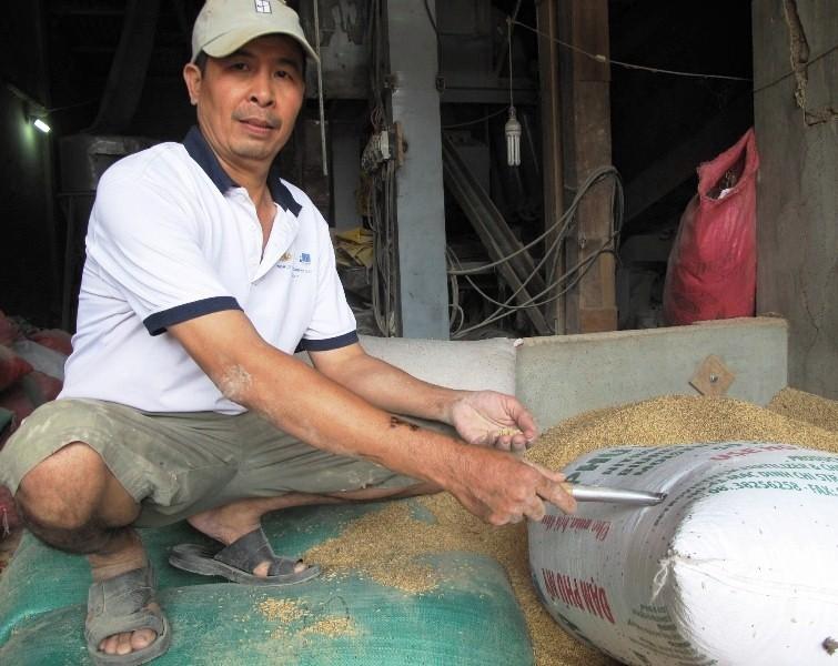 Người nhặt vàng trong bao lúa sẽ giao vàng cho chính quyền niêm phong - 1
