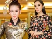 Huyền My thần thái sang chảnh tại sự kiện Hoa Hậu Việt nam 2018