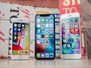 NÓNG: iPhone 7, 8, X giảm sốc từ 4,5 - 8,8 triệu đồng