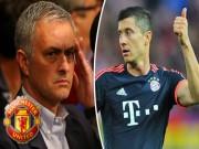 """Bóng đá - Chuyển nhượng MU: Mourinho """"đánh úp"""" Real, chiêu mộ Lewandowski 100 triệu euro"""