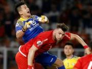Bóng đá - Persija Jakarta - SLNA: SAO U23 VN cứu muộn, đòn đau phút 93