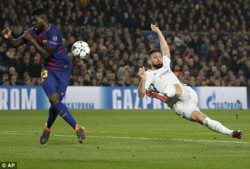 Chi tiết Barcelona - Chelsea: Nỗ lực trong vô vọng (KT) - 7