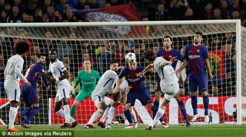 Chi tiết Barcelona - Chelsea: Nỗ lực trong vô vọng (KT) - 8