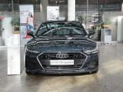 Mê mẩn với vẻ đẹp của Audi A7 Sportback 2019 màu sơn xanh xám