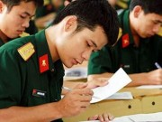 Hai trường khối quân sự không phân biệt điểm chuẩn Nam - Bắc