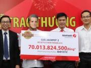 Vietlott công bố hình ảnh vé trúng jackpot 2 cao kỷ lục