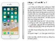 HOT: Dùng iPhone 6 ở Việt Nam lại bị chê  nhà quê lắm