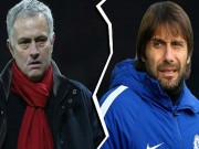"""MU - Chelsea  """" xem """"  cúp C1: Mourinho - Conte và thứ bóng đá lỗi thời"""