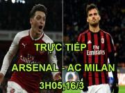 Chi tiết Arsenal - AC Milan: Welbeck hoàn tất cú đúp (KT)