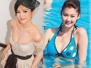 """Nhan sắc 5 hoa á hậu Hồng Kông mở  """" tiệc trinh nữ """""""