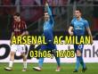 """Arsenal – AC Milan: """"Pháo"""" quyết nổ to, """"rửa mặt"""" Ngoại hạng Anh"""