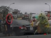 Tìm được nữ tài xế lùi xe trên cầu còn lớn tiếng thách thức