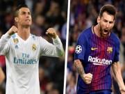 Bốc thăm tứ kết Cúp C1: Ronaldo gạ đấu Messi,  người nhà  đoán sấp mặt