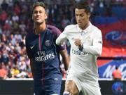 Real  &  Điệp vụ thế kỷ: Ronaldo  tế thần  PSG, Bóng vàng dụ Neymar