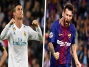"""La Liga trước vòng 29: Barca  gầm thét , Real giúp Ronaldo đua  """" Vua phá lưới """""""