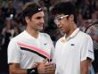 """Federer hạ gục Hyeon Chung: """"Thầy phù thủy"""" bóp nghẹt sao mai"""
