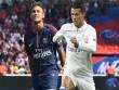 """Real & Điệp vụ thế kỷ: Ronaldo """"tế thần"""" PSG, Bóng vàng dụ Neymar"""
