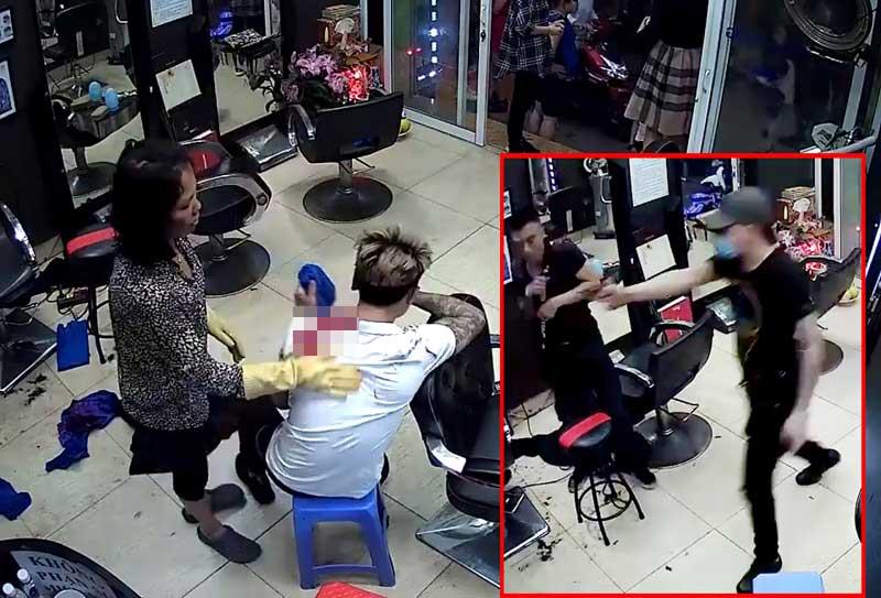 """Điều tra clip """"nổ súng đổ máu tại tiệm cắt tóc"""": Không tìm thấy vỏ đạn - 1"""