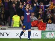 Barca mơ ăn ba nhờ Messi:  Siêu nhân  là máy săn bàn kiêm vua kiến tạo
