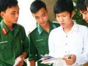 6 học viện, trường quân sự xét tuyển thêm khối A01