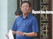 Tướng Phan Văn Vĩnh lần đầu lên tiếng sau khi làm việc với cơ quan điều tra