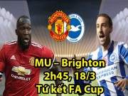 MU - Brighton: Mourinho hốt hoảng bấu víu  phao cứu sinh