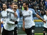 """Sampdoria - Inter Milan: Người hùng lập poker,  """" nhấn chìm """"  5 bàn"""