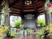 Trang nghiêm mộ phần nơi ông Phan Văn Khải sẽ an nghỉ