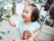 Bà xã Tuấn Hưng lần đầu khoe trọn bộ ảnh đời thường cực đáng yêu của con gái