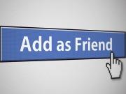 """Tuyệt chiêu kết bạn Facebook  """" thần tốc """"  trên iPhone"""