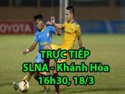 TRỰC TIẾP bóng đá SLNA - Khánh Hòa: Tâm điểm 2 SAO U23 Việt Nam