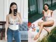 """""""Bom sexy"""" Minh Triệu nóng bỏng với áo tắm, """"đánh bại"""" bản sao Tâm Tít"""