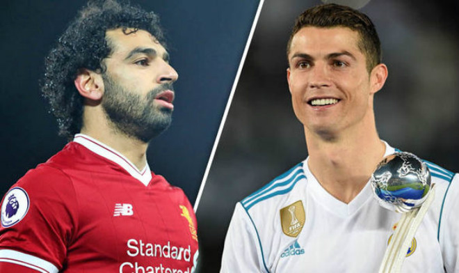 Ronaldo – Salah bùng nổ poker, ghi 8 bàn: Messi vĩ đại bị vượt mặt