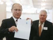 Bầu cử Nga: Báo chí thế giới viết gì về chiến thắng của ông Putin?