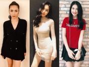 Cao chỉ hơn 1m6 nhưng Hòa Minzy không ngán  chung váy  với hoa hậu nào