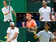 Vua chung kết Del Potro ngang Djokovic: Đỉnh hơn Federer, Nadal, Murray
