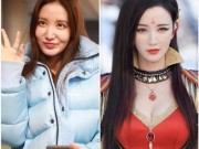 Không nhận ra Hoa hậu Hoàn vũ Trung Quốc vì gương mặt khác lạ