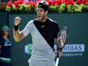 Del Potro:  Tòa tháp Tandil  đến thời đe dọa lật Federer - Nadal