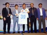 """Nhà vua V-League được  """" bơm """"  hàng chục tỷ trước trận đấu đội Tiến Dũng U23"""