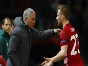 MU sinh biến mới: Mourinho nổi điên, Luke Shaw khẩu chiến dữ dội