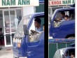 Nóng 24h qua: Clip bé trai lái xe tải bon bon trên phố khiến dân mạng sửng sốt
