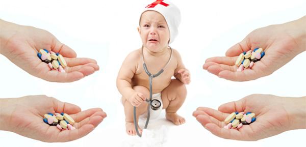 Mẹ cần biết: Sử dụng kháng sinh sai cách có thể gây hại cho con - 1