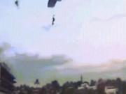 Mexico: Hai người nhảy dù đâm vào nhau trên không, hậu quả đau xót