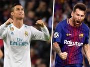 """Bàn thắng đẹp Liga V29: Vua sút xa Messi đọ Ronaldo  """" siêu nhân vòng cấm """""""