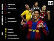 """Ronaldinho sinh nhật 38 tuổi: """"Gã du mục"""" quái chiêu có phép màu bất tử"""
