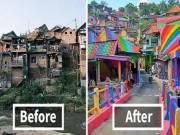 Chi 22.000$ để biến một ngôi làng ổ chuột thành điểm du lịch hấp dẫn