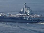 Trung Quốc điều tàu sân bay  dằn mặt  Đài Loan